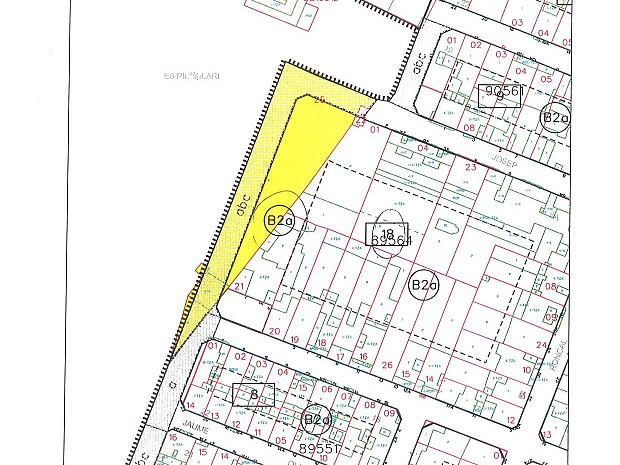 Solar de 856,76 m² en Es Pilari, Palma. Edificabilidad de 19 viviendas. #1