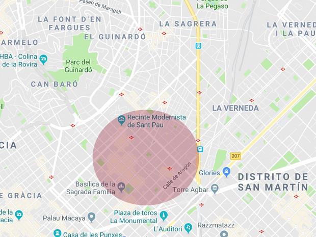 Solar destinado a uso residencial situado en el barrio de la Sagrada Familia, Barcelona. #1