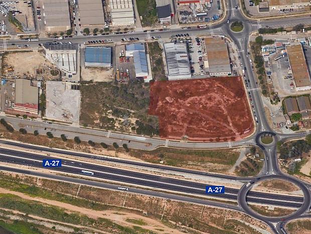 Solar industrial en venda de 12.498 m² - Tarragona #1